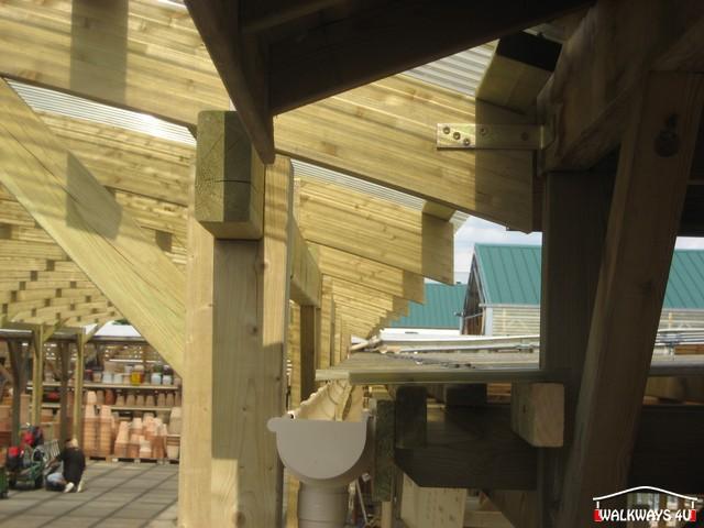 Konstrukcja z drewna na zam?wienie. Zadaszenia, hale drewniane.