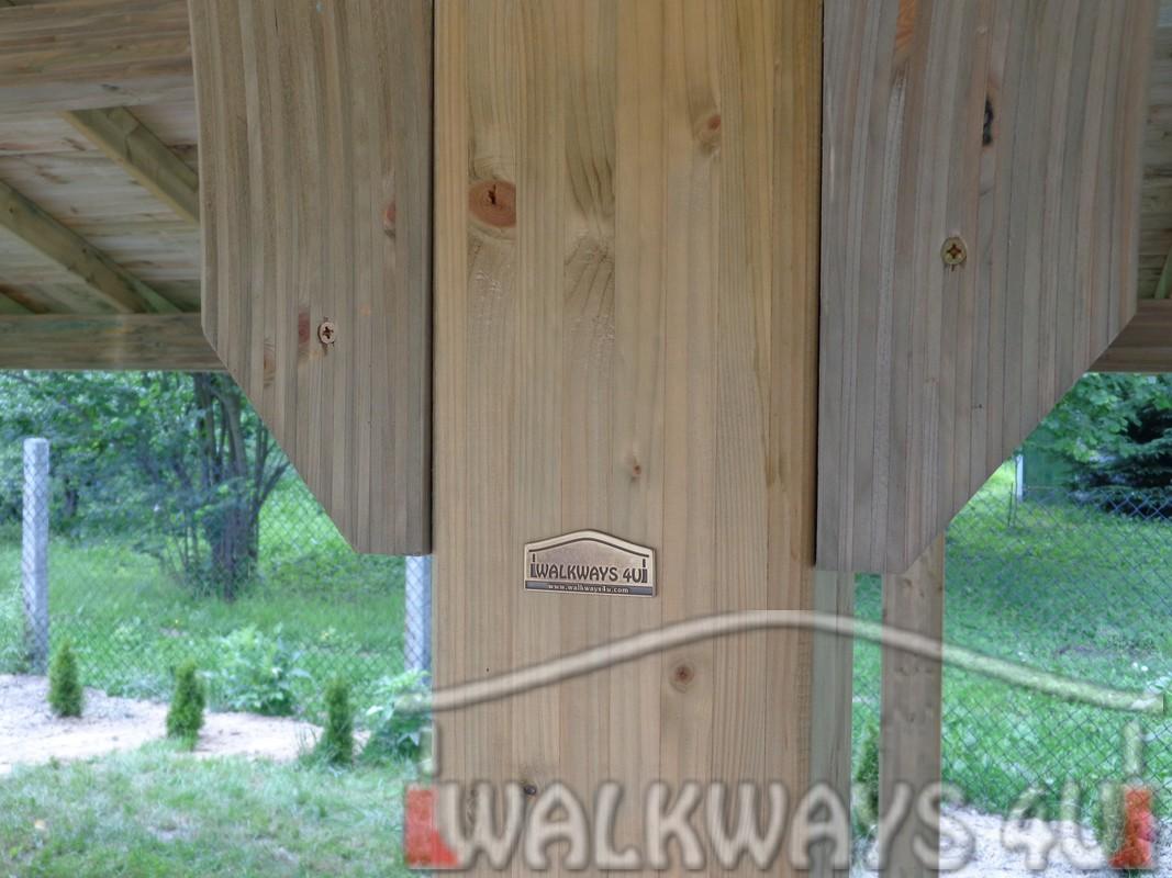Wysokiej jako?ci konstrukcje z drewna klejonego