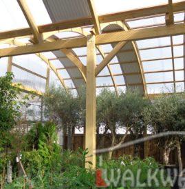 Hale budynki i zabudowa z drewna klejonego, zadaszenia tarasy i konstrukcje WALKWAYS4U