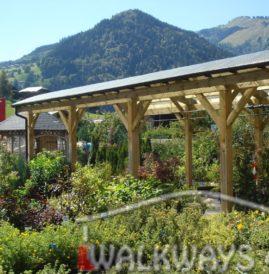 Zadaszenia tarasowe, zabudowa, wiaty ogrodowe, hale drewniane z drewna gi?to-klejonego
