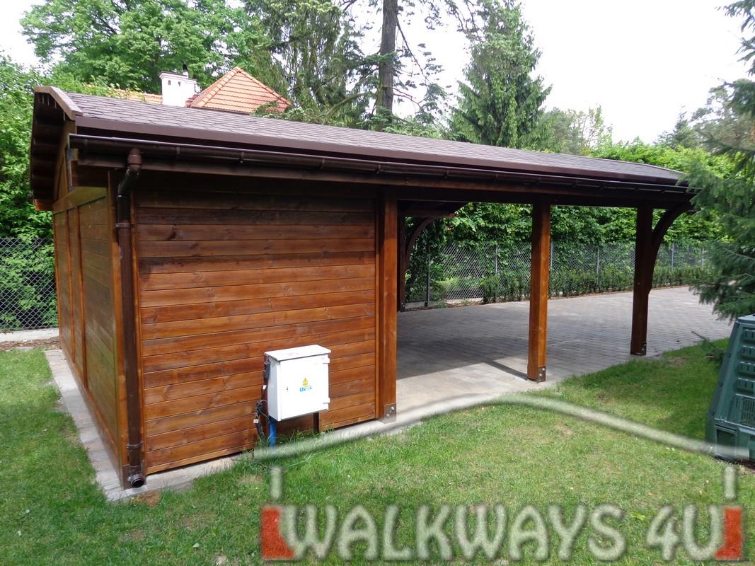 Szklana zabudowa tarasy gara?e, carporty, drewniane gara?e, konstrukcje, baseny