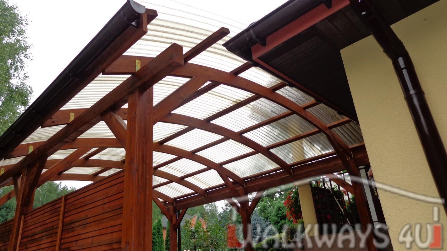 Drewniane wiaty gara?owe z pomieszczeniem gospodarczym, zabudowa taras?w, basen?w, zabudowa szklana, drewniana
