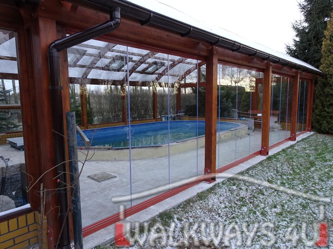 Zabudowa basenu, szklana zabudowa, oran?eria, ogr?d zimowy, szk?o hartowane