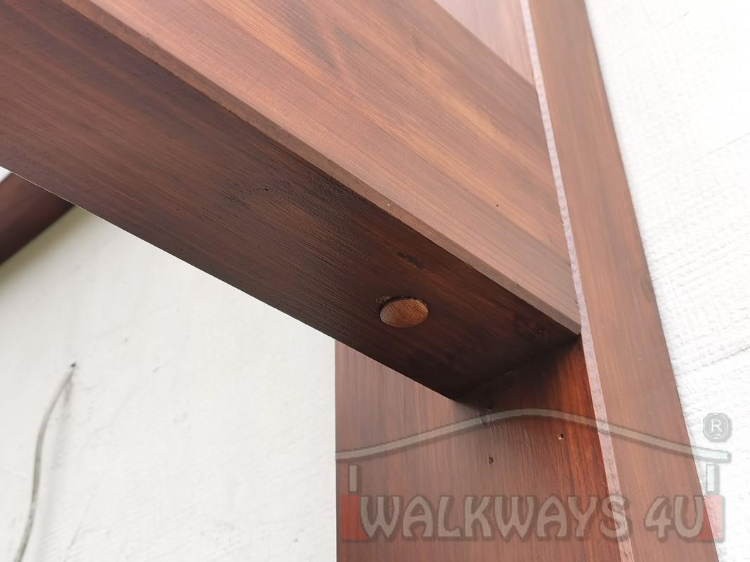 Photo 17. Zadaszenia taras?w, werandy drewniane, konstrukcje z drewna klejonego, drewniane tarasy pergole, wiaty