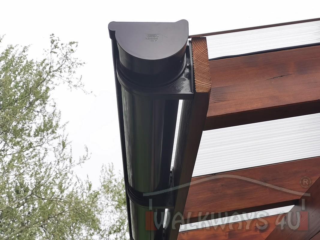 Photo 13. Zadaszenia taras?w, werandy drewniane, konstrukcje z drewna klejonego, drewniane tarasy pergole, wiaty