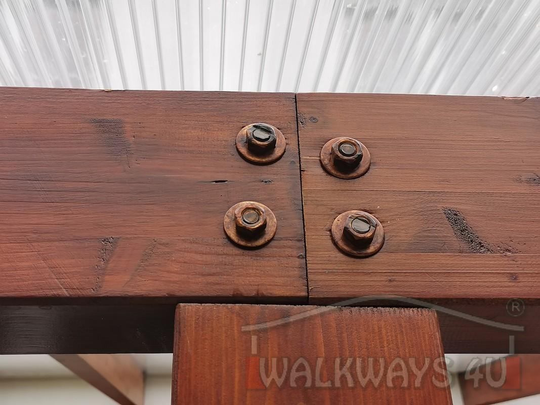 Photo 09. Zadaszenia taras?w, werandy drewniane, konstrukcje z drewna klejonego, drewniane tarasy pergole, wiaty