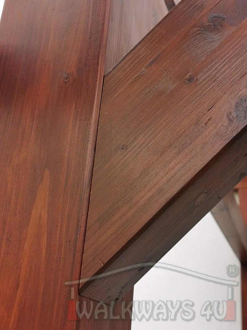 Photo 08. Zadaszenia taras?w, werandy drewniane, konstrukcje z drewna klejonego, drewniane tarasy pergole, wiaty