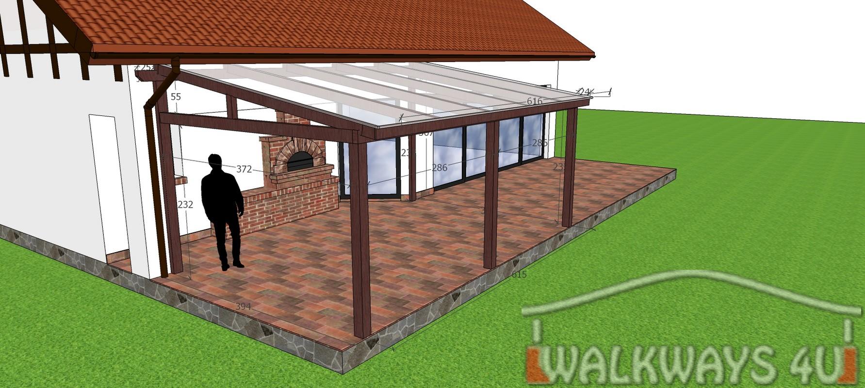 Photo 02. Dach drewniany weranda, zadaszenia taras?w, zabudowy szklane, konstrukcje werandy, innowacyjne projekty i wykonanie