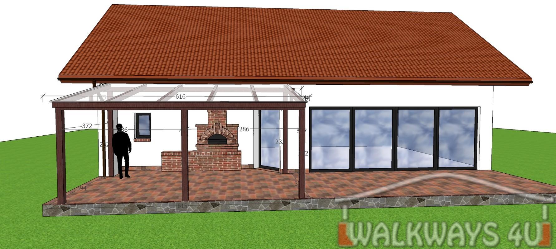 Photo 03. Dach drewniany weranda, zadaszenia taras?w, zabudowy szklane, konstrukcje werandy, innowacyjne projekty i wykonanie