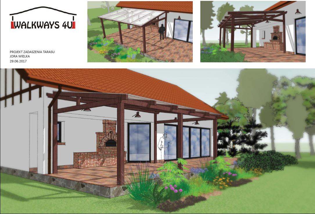 Photo 08. Dach drewniany weranda, zadaszenia taras?w, zabudowy szklane, konstrukcje werandy, innowacyjne projekty i wykonanie