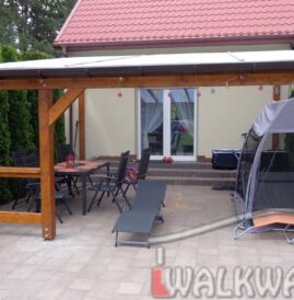 Photo 02. Drewniane werandy szk?o hartowane na taras realizacja wykonawstwo projektowanie konstrukcji z drewna