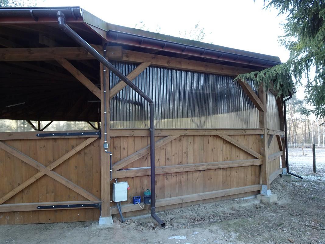 Photo 07. Rond de longe est le travail des chevaux ? la longe construction en bois