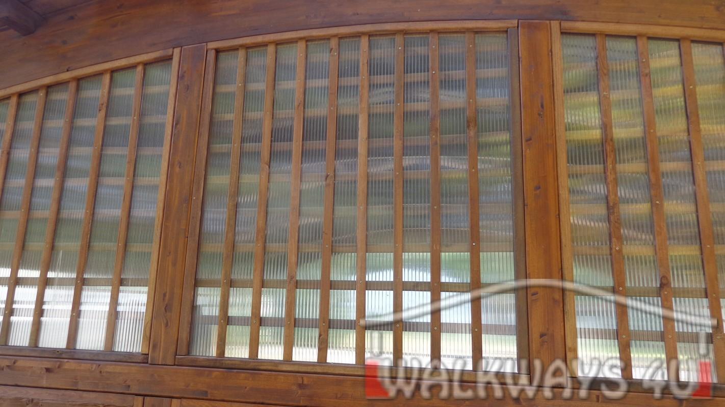 Zdjęcie nr 5 . Drewniane wiaty garażowe, carporty z drewna, garaż drewniany z drewna klejonego, wiata garażowa na samochód
