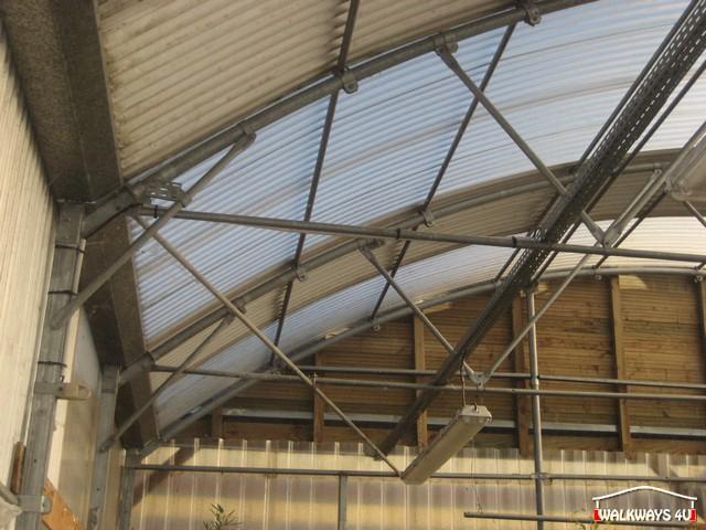Image No  09.  Passages couverts, espaces commercial couvert, constructions en bois lamelle - colle, toitures, fermetures en bois